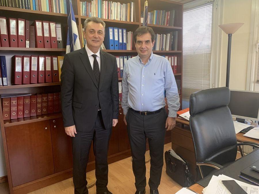 Συνάντηση του Γ. Κωτσού με τον διοικητή του Ε.Φ.Κ.Α.