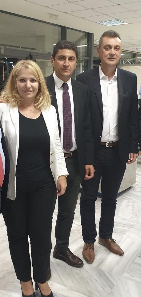Μετά από συνεργασία του Βουλευτή Καρδίτσας Γιώργου Κωτσού με τον Υφυπουργό Αθλητισμού Λευτέρη Αυγενάκη