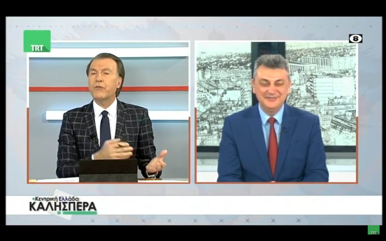 Συνέντευξη στην ΤΡΤ και τον κ. Πολύζο έδωσε ο Γιώργος Κωτσός