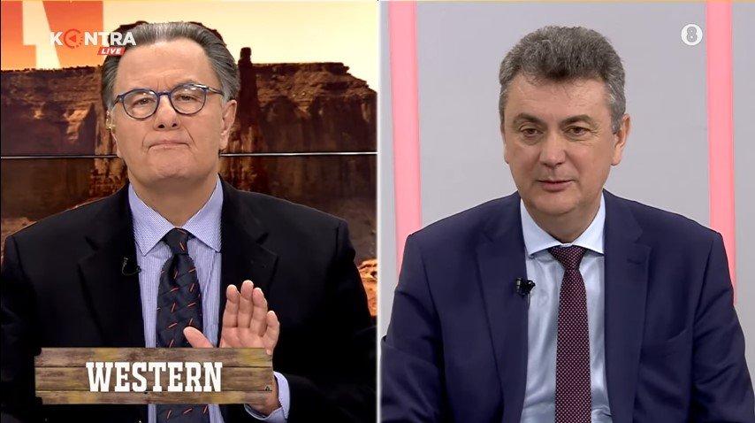 """Ο Γιώργος Κωτσός στο Kontra Channel με τον Πάνο Παναγιωτόπουλο """"Western"""""""