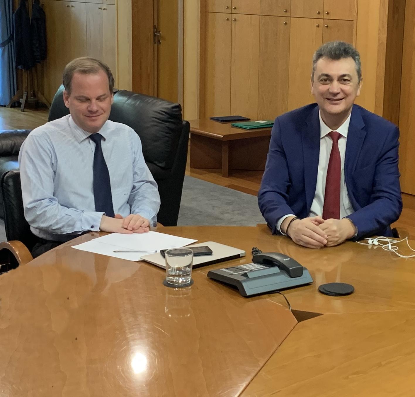 Μετά από συνεργασία του Γιώργου Κωτσού με την ηγεσία του Υπ. Υποδομών & Μεταφορών
