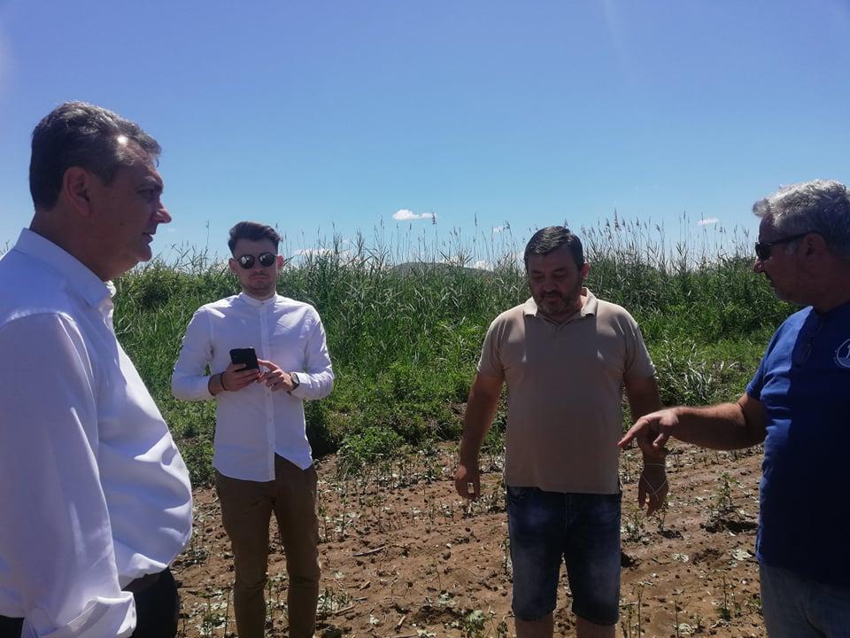 Κοντά στους αγρότες ο Βουλευτής Καρδίτσας Γιώργος Κωτσός